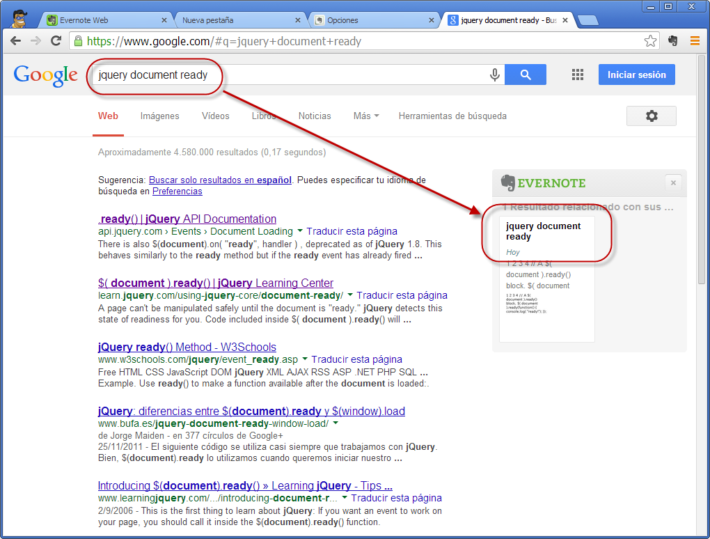 DDD - Evernote - En Google 1