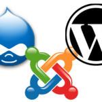 CMS - WordPress, Joomla y Drupal