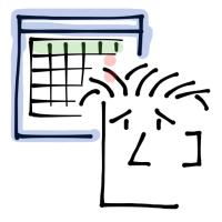 Viñeta de cómic sobre el estrés y el calendario