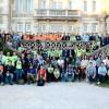 Foto con los asistentes, organizadores y ponentes de la WordCamp Cantabria.