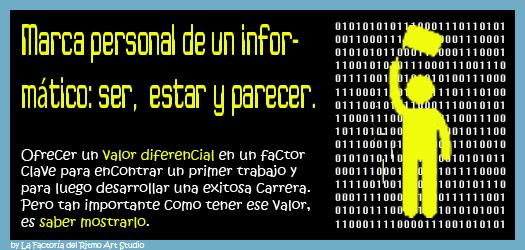 """Charla """"Marca personal de un informático: ser, estar y parecer"""", ofrecida el 1 de diciembre 2015 en la Universidad de Cantabria"""