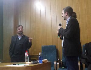 David Diego y Jose Luis del Río