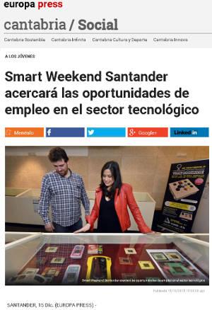 Smart Weekend Santander